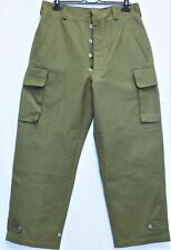 New Genuine French Army first model M47 Cargo Pants/Trousers 1952 W36 L44 NOS
