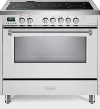 "Verona Designer Vdfsee365W 36"" Electric Range Oven Convection White"
