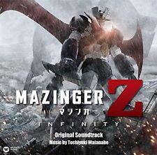 Mazinger Z The Movie INFINITY Original Soundtrack CD F/S w/Tracking# Japan