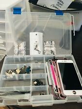 IPHONE 6S ASSORTED PARTS FOR  REPAIR SHOPS WITH STORAGE CONTAINER