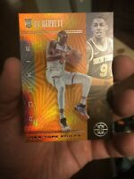 2019-20 Panini Illusions RJ Barrett Orange SP Rookie RC #171 Knicks