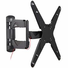 "VonHaus 23-55"" Tilt & Swivel TV Wall Mount Bracket with Cable Management System"