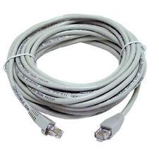 50m RJ45 Cat5e ETHERNET NETWORK LAN RJ45 Cable Patch Lead CCTV SKY XBOX  BT PS4
