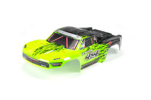 Body Pntd Decal Trim Green SENTON 4x4 BLX Z-AR402204