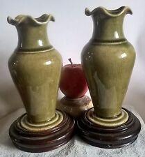 18/19 centuary pair chinese lonquan celadon vases