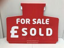 20 x Car Price/Pricing Sun Visor Set FOR SALE Sign Board