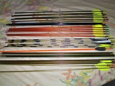 Lot of 32 vintage aluminum arrows