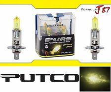 Putco 3000K Yellow H1 230100JY 55W Two Bulbs Fog Light Replacement Plug Play OE