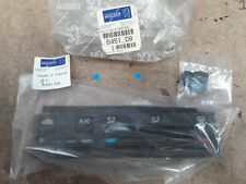 NEW GENUINE PEUGEOT 405 HEATER CONTROL FASCIA TRIM PANEL WITH A/C BUTTON 6451.D8
