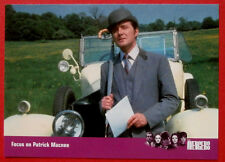 THE AVENGERS - Card #87 - Focus on Patrick Macnee - SERIES ONE Strictly Ink 2003