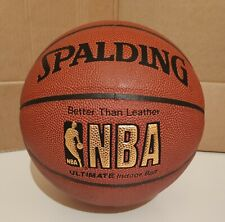 Spalding NBA Gold Ultimate Indoor Basket ball size 7 New