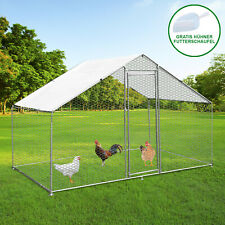 Hühnerstall Hühnerfreilauf Hühnergehege Auslauf Outdoor-Hühnerkäfig UV Geflügel