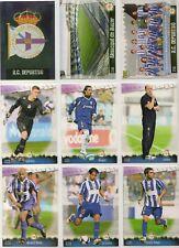 27 fichas del Depor Mundicromo Fichas de la liga 2008-2009