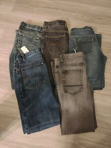Boys Jeans Size 12 Lot Of 5