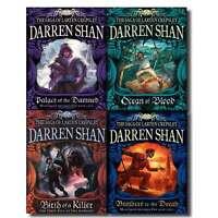 Darren Shan Series Collection The Saga of Larten Crepsley 4 Books Set | Darren S