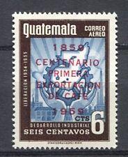 37297) GUATEMALA 1959 MNH** Centenary of coffee export.