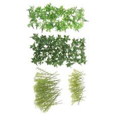 Modèle en plastique Arbres et herbe pour la fabrication de modèles