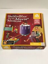 180184 Toy GOLDIE BLOX and THE MOVIE MACHINE Skill Concept (Sealed)