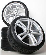 NEU für VW Tiguan I 5N 18 Zoll Alufelgen Silber WH27 Winterkompletträder