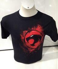 Thundercats Men's Shoulder Logo T-shirt Black Small