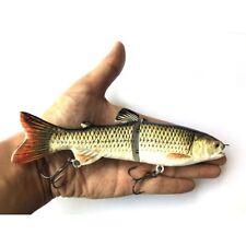 """Sucker 7"""" Glide Bait Big Bass Muskie Pike Fishing Swimbait Lure"""