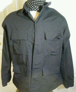 Propper Public Safety size XLR Polyester Blend Black Long Sleeve Heavy Shirt