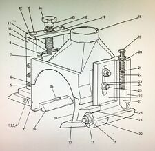 Wadkin Mouleur Pivot Support Haut Brise-Copeaux OEM Authentique Pièces - GA170