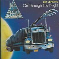 DEF LEPPARD - ON THROUGH THE NIGHT USED - VERY GOOD CD