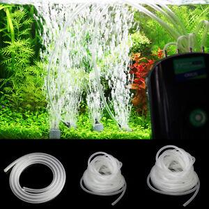 1/5/10m Oxygen Tubing Hose Pipe Pond Aquarium/Fish Tank Air Pump Tube