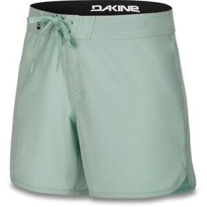 """New 2019 Dakine Womens Freeride 5"""" Boardshorts Size 28 Lichen Green Board Shorts"""