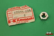 Kawasaki NOS NEW 42045-005 Nut 10mm Z1 H1 H2 C2 G3 G4 G5 KD KE KH KL 1967-2005
