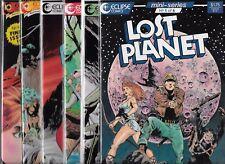 LOST PLANET #1-#6 SET (NM-) ECLIPSE COMICS
