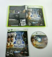 Sacred 2 Fallen Angel Xbox 360 CDV 2008 Complete