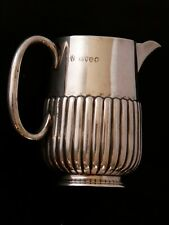 Victorian Silver Milk/Cream Jug by Charles Stuart Harris London 1886