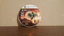 Fable III (PC, 2011) DISC ONLY FRENCH NO CD KEY