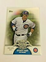 2013 Topps Baseball Making their Mark - Anthony Rizzo - Chicago Cubs