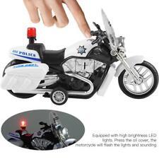 Police Motorbike Patrol Motorcycle Toy Mini Pull Back Model Kids Birthday Toys