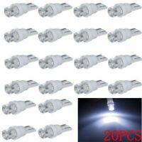 20PCS T10 White LED 194 168 SMD W5W Car Wedge Side light Bulb lamp DC 12V