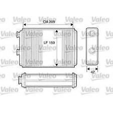 VALEO 812280. Heat Exchanger, for FIAT PUNTO LANCIA Y MUSA YPSILON