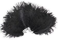 Black Ostrich Feather 8-12 inch size per Each