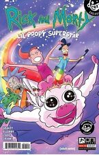RICK AND MORTY LIL POOPY SUPERSTAR 1 RARE NEWBURY VARIANT ONI PRESS NM