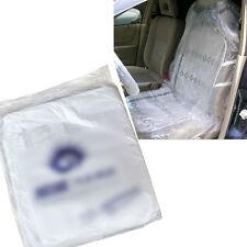 10 Pcs Car Disposable Auto Plastic Seat Films Covers For repair