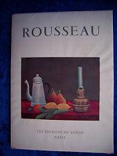 """""""HENRI ROUSSEAU dit le Douanier"""" de LO DUCA (1951)"""