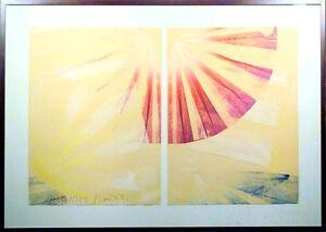Scott Sandell Ocean Weather #21 Original Hand Signed Monoprint Art, MAKE OFFER!
