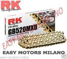 RK CATENA TRASMISSIONE 520MXU ORO 120 MAGLIE CL CL KTM EXC-F EXC F SIX DAYS 450