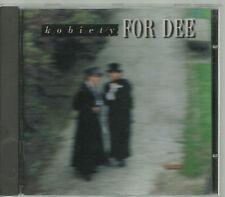 FOR DEE - KOBIETY 1995 ZIC ZAC TOP RARE POLISH CD POLAND POLEN POLONIA