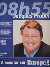 PUBLICITÉ 2002 A ÉCOUTER SUR EUROPE 1 AVEC YVES CALVI - ADVERTISING