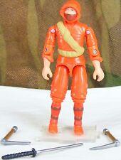 GI JOE comic pack COBRA Red Ninja Viper v2 2005 army builder action figure