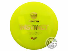 New Discmania Evolution Neo Instinct 173g Yellow Gold Foil Driver Golf Disc