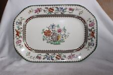 Copeland Spode Chinois Rose Serving Dish 24.3 cm Rd no 629599